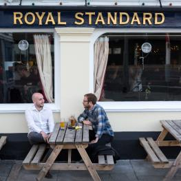 Royal Standard Hastings Outside seating